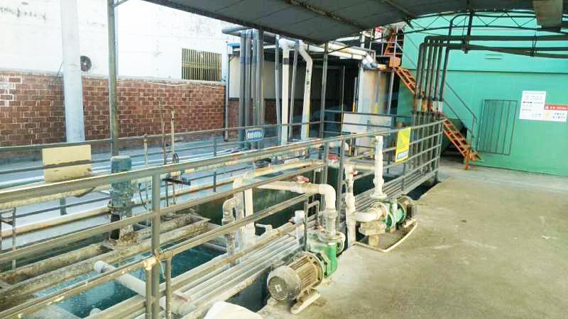 东台某公司电镀废水化学镍排放处理